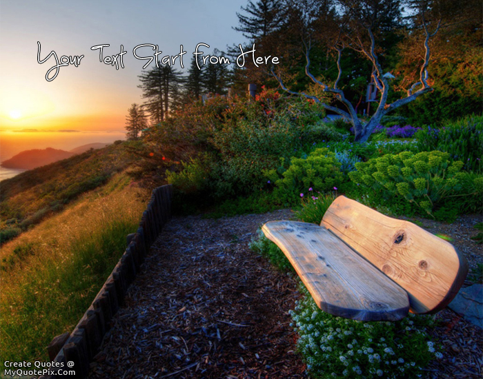 Design your own names of Beautiful Place