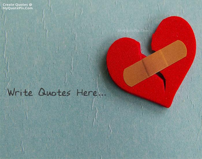 Design your own names of Broken Heart