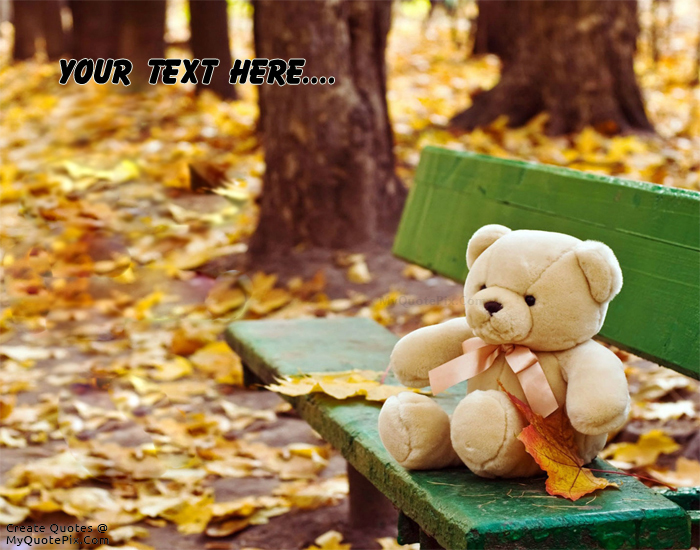 cute teddy bear quotes