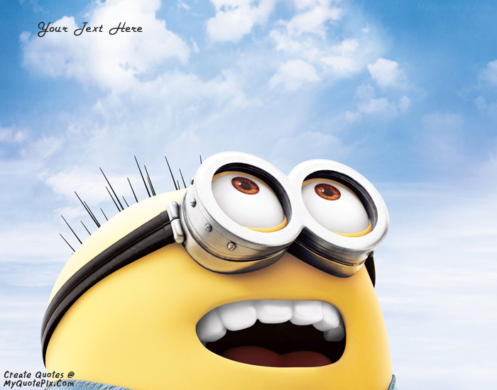 Image of: Android Design Your Own Names Of Funny Minion Google Play Write Quote On Funny Minion Picture