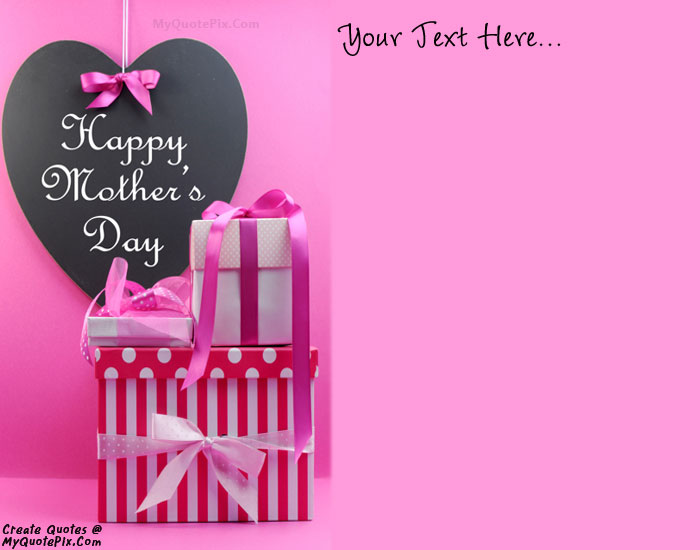 Design your own names of Happy Mother Day 2015