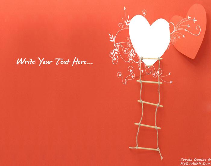 Design your own names of Love Opens The Door