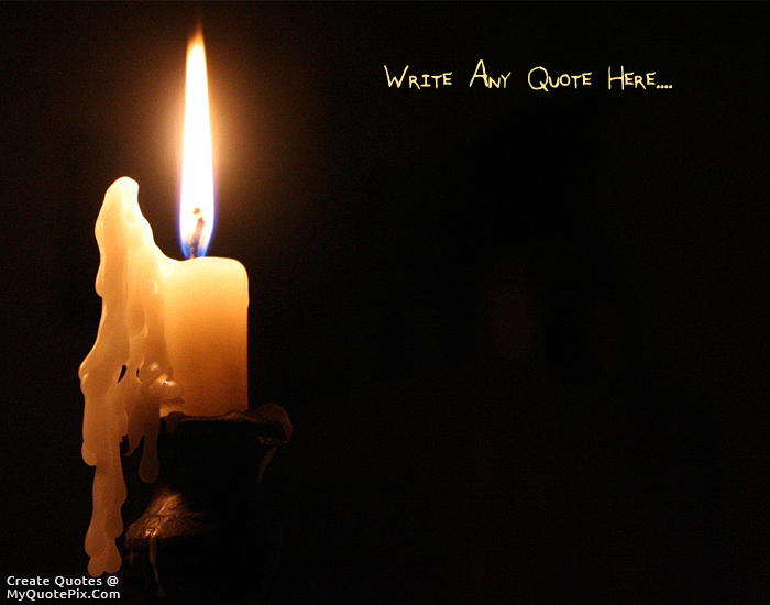 Design your own names of Melting Candle & Write Quote on Melting Candle Picture azcodes.com