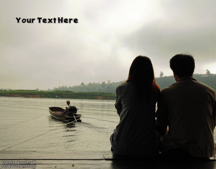 Design your own names of Romantic Sea View