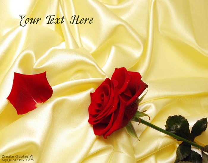 Design your own names of Rose and Silk
