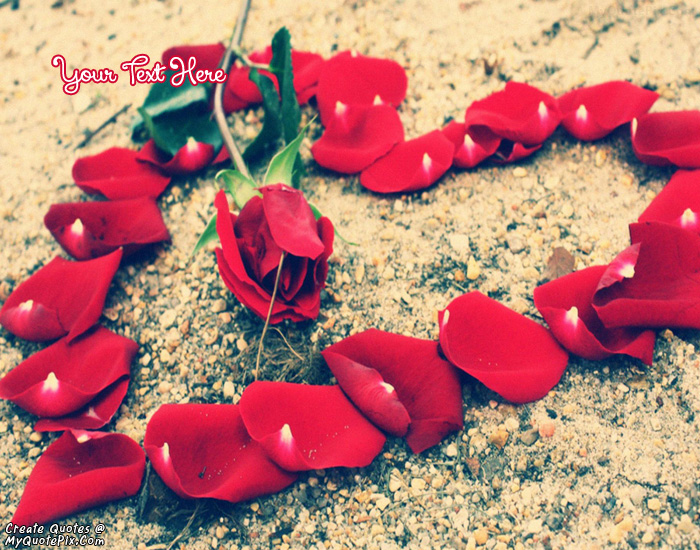 Design your own names of Rose Patels Heart