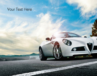 Alfa Romeo White Car quote pictures