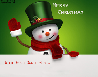Cartoon Merry Christmas Wishes quote pictures