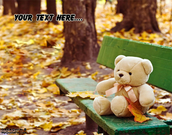Cute Teddy Bear quote pictures
