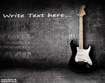 Electric Guitar quote pictures