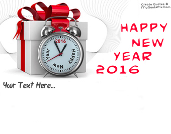 Happy New Year 2016 Greeting quote pictures