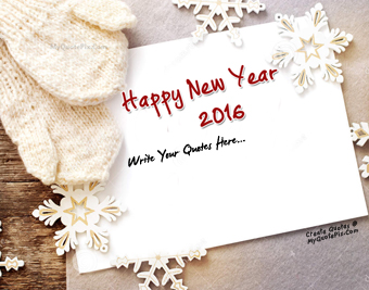 Happy New Year 2016 quote pictures
