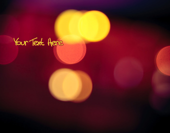 Lights Bokeh Photo quote pictures