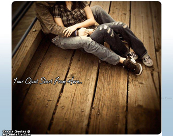 Romantic Couple quote pictures