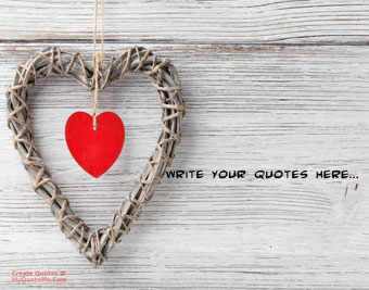 Wall Wood Heart quote pictures