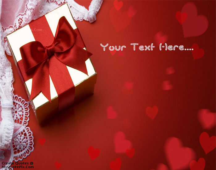Design your own names of Wishes With Gift