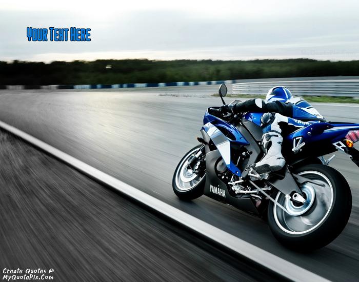Design your own names of Yamaha Bike